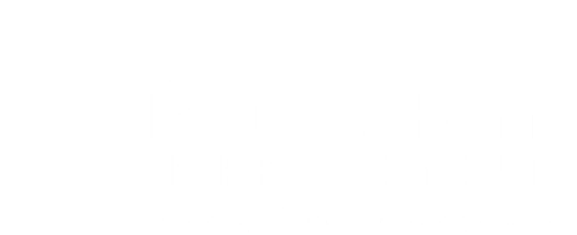 Deluxe Home Improvements white