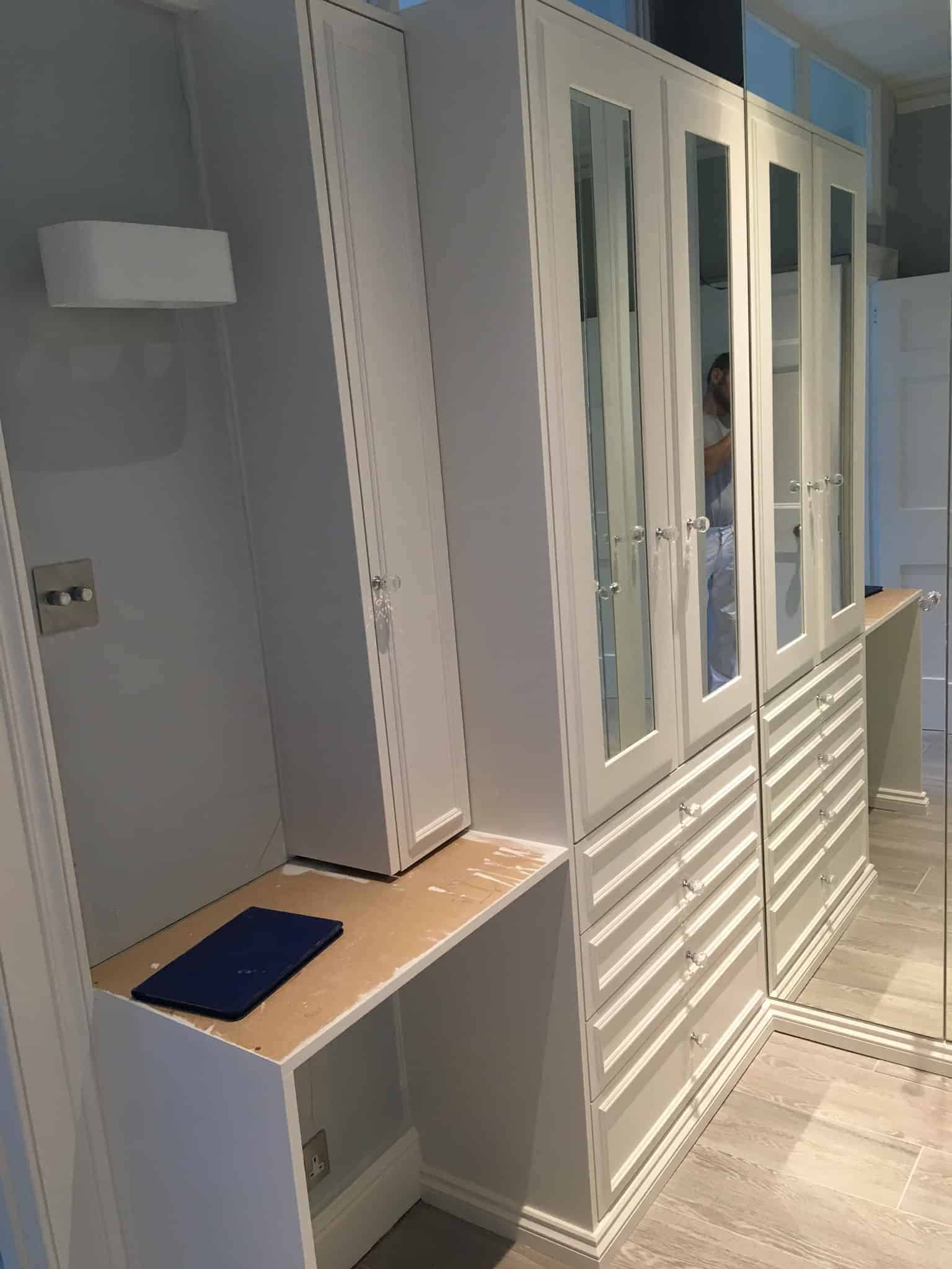 bespoke wardrobes bath